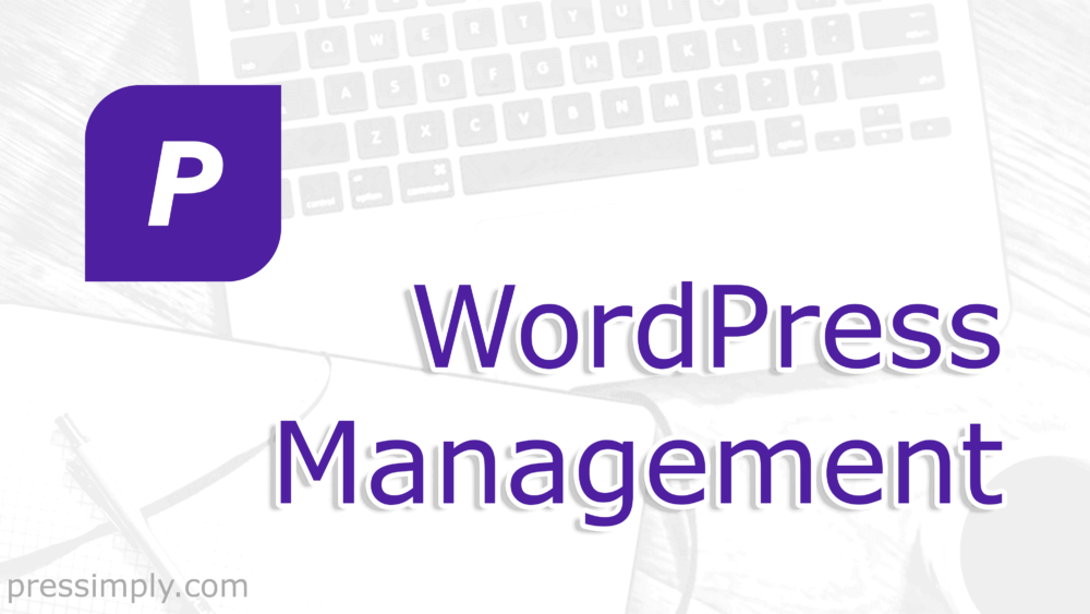WordPress Management | Pressimply