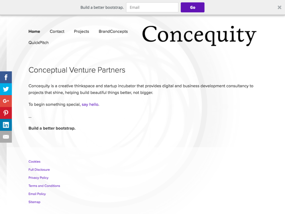 Concequity | Pressimply Work
